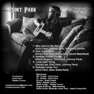 Clint Park Album inside cover